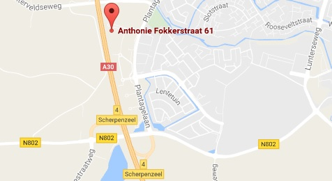 Toon BEWE Koeriers- & Transport diensten in Google Maps!